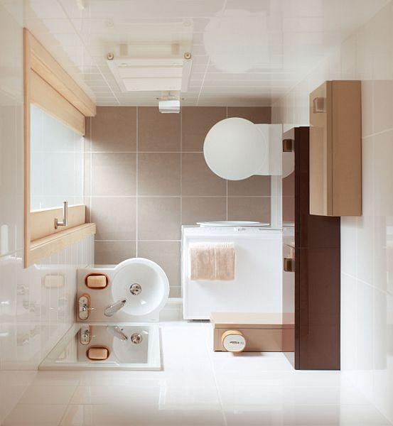 Urządzanie małej łazienki - meble i akcesoria - :Cersanit: - lazienkowy.pl